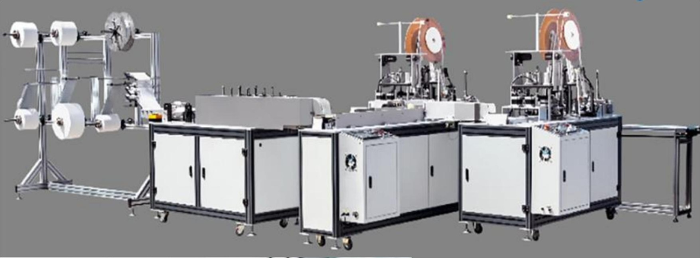 echipament productie masti medicale coronavirus protectie